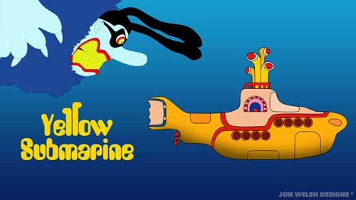 Those in the Yellow Submarine vs The Blue meanies