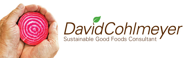 David Cohlmeyer Sustainable Good Foods Consultant