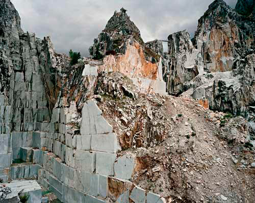 Carrara Marble Quarries by Edward Burtynsky.